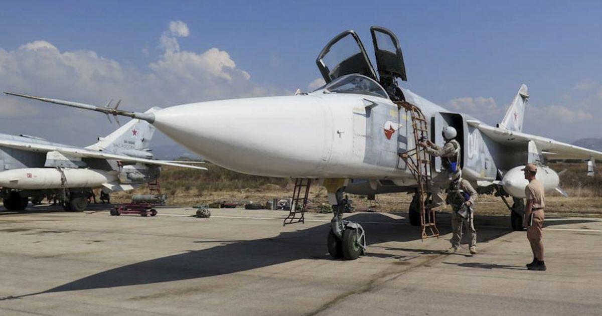турция сбила российский самолет над территорией сирии