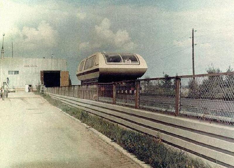 магнитный поезд