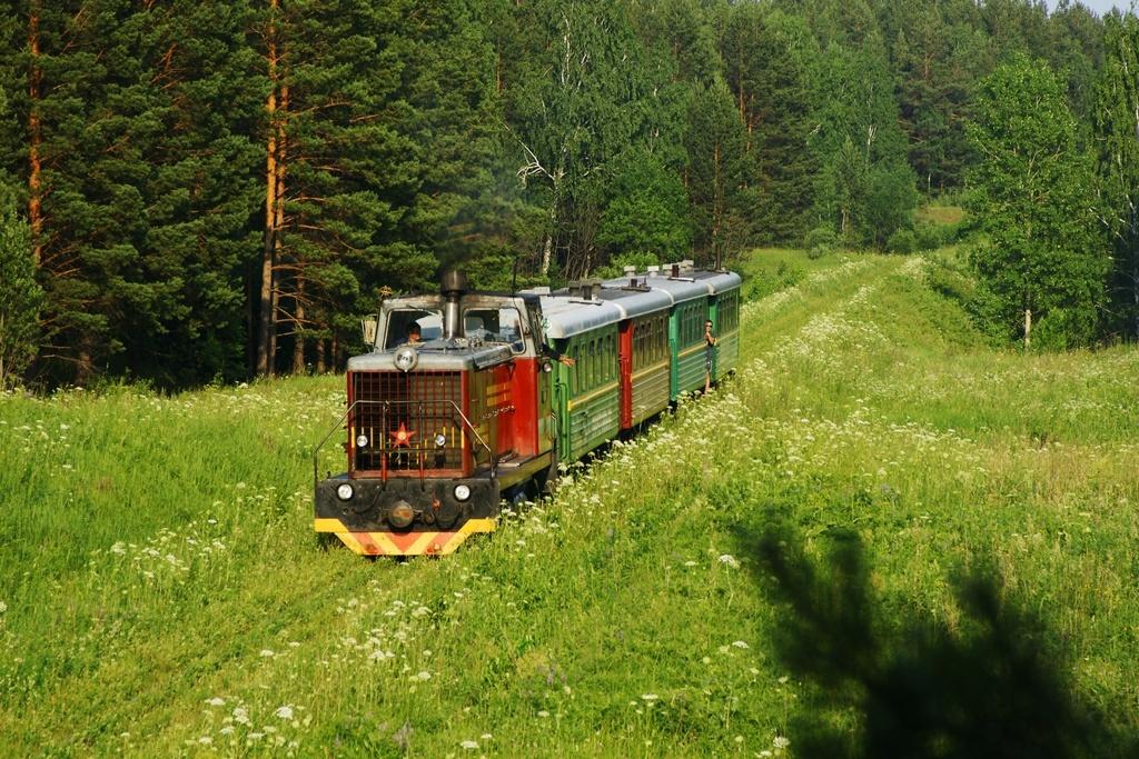 колея железной дороги в россии