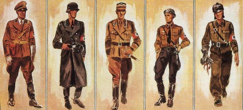 форма немецких солдат второй мировой