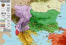 первая балканская война 1912 1913