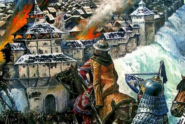 разорение владимира ханом батыем