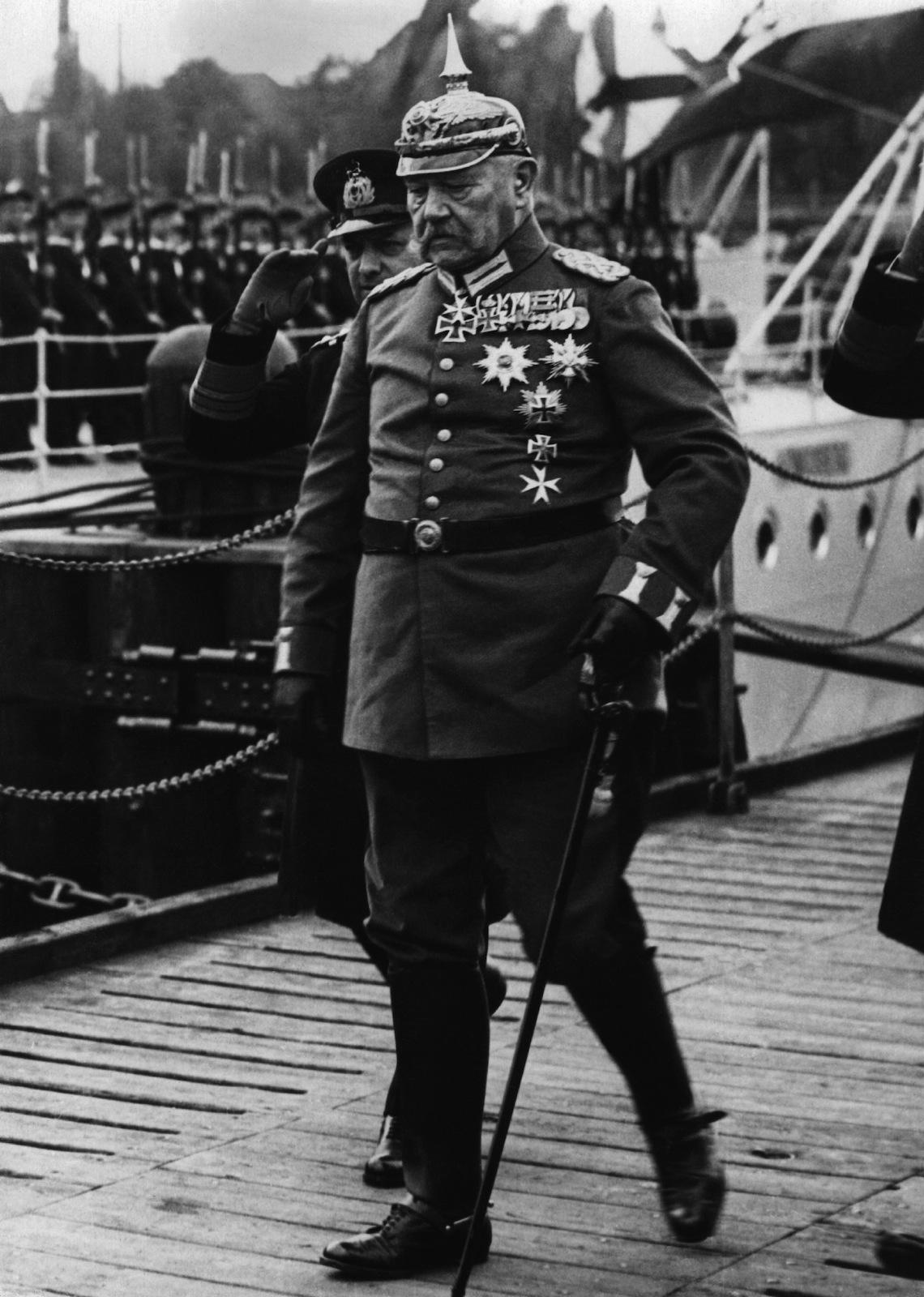 гинденбург президент