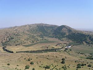 голанские высоты израиль