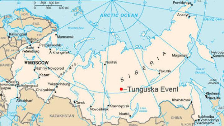 в каком году упал тунгусский метеорит