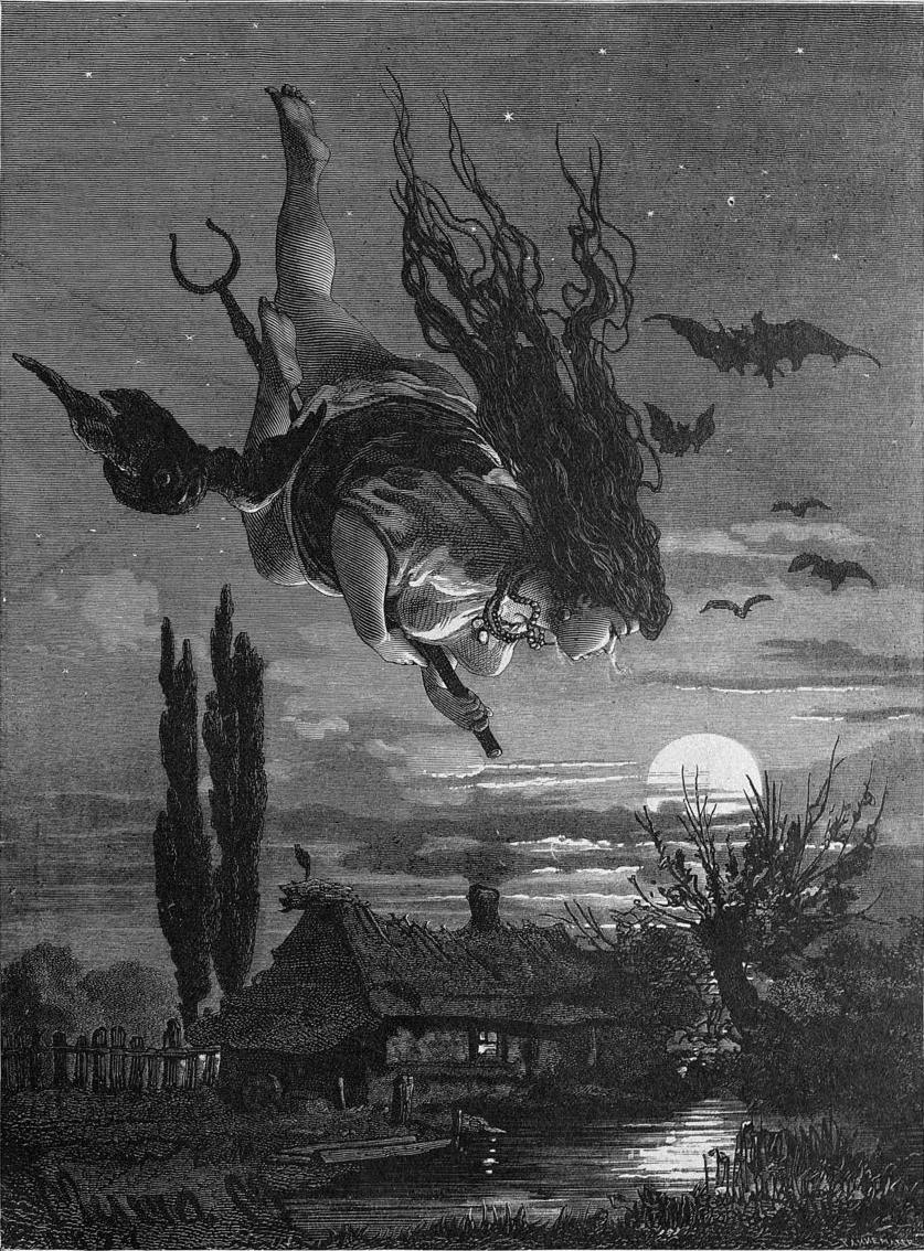 сожжение ведьм в средние века