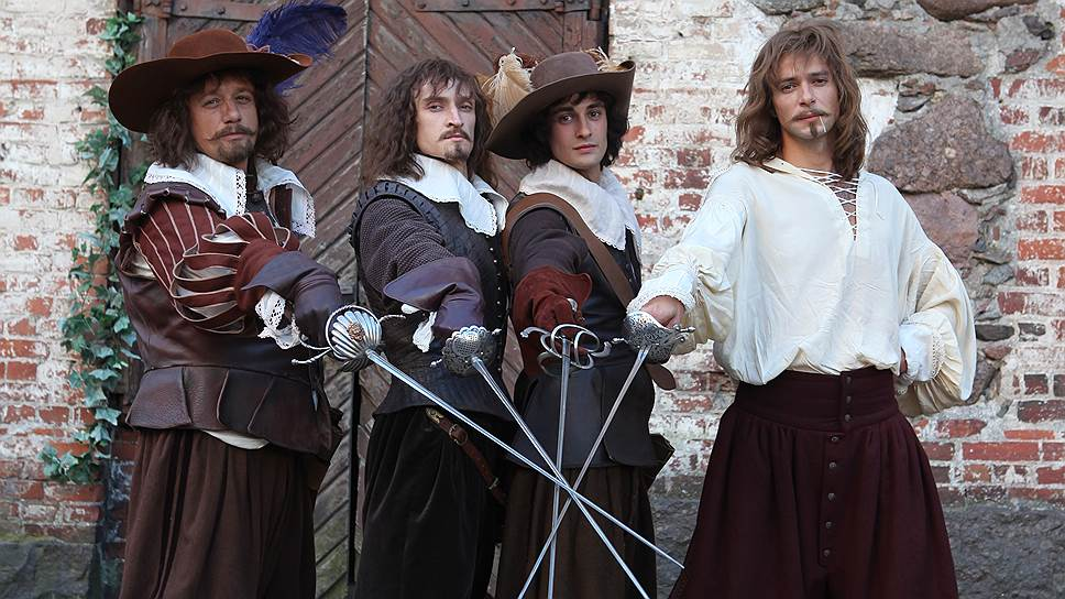три мушкетера автор книги