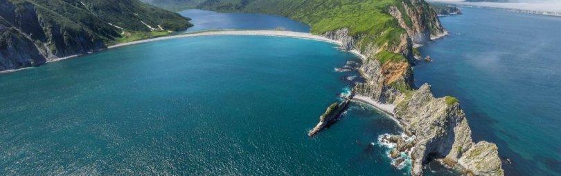 Остров Курильской гряды