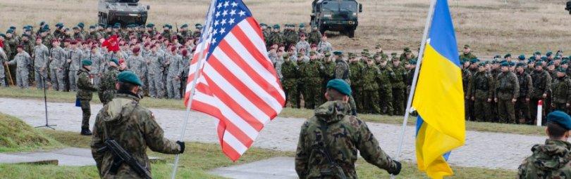 Американские и украинские военные