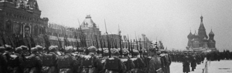 Солдаты идут на фронт