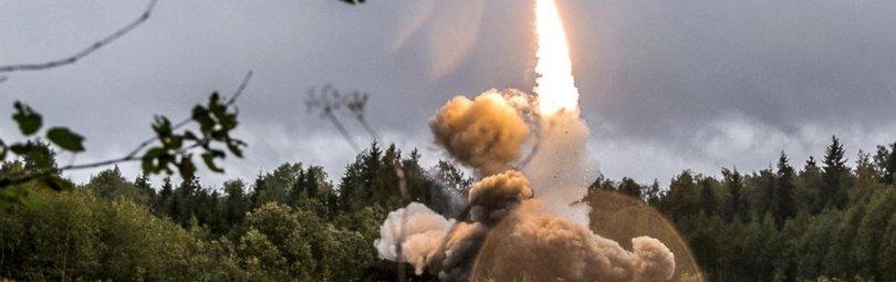 Запуск боевой ракеты