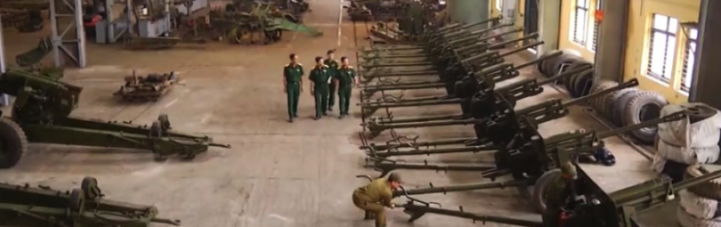 Переданная Вьетнаму военная техника