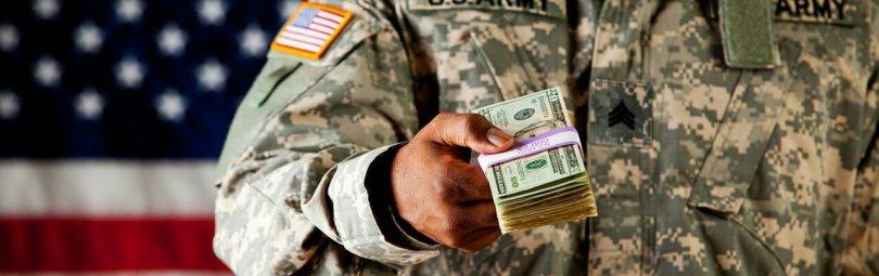Зарплата военных