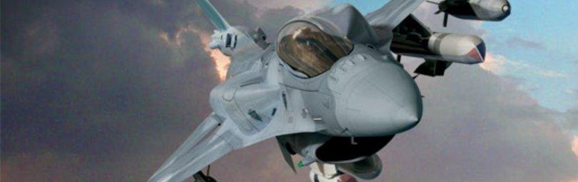 Американский самолет F-16