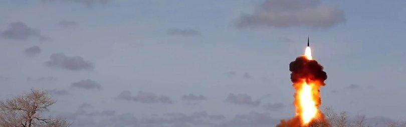 Запуск ракеты комплексом «Нудоль»