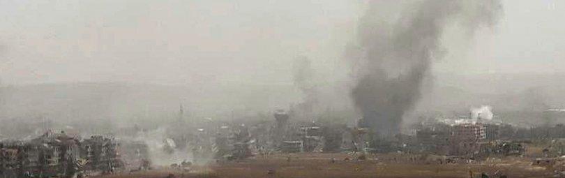Дамаск после бомбардировок