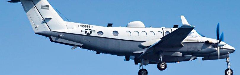 Самолет радиоэлектронной разведки США