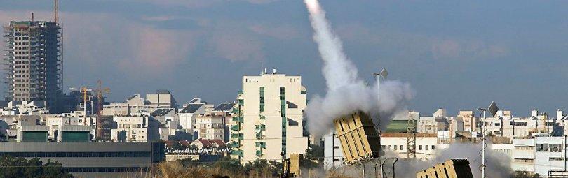 Запуск ракет «Железного купола»