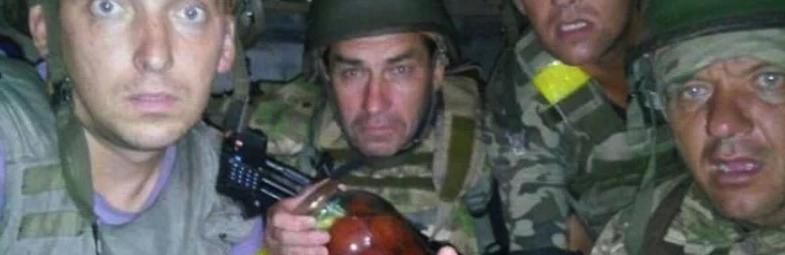Напуганные украинские солдаты