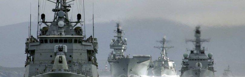 Эскадра в Азовском море