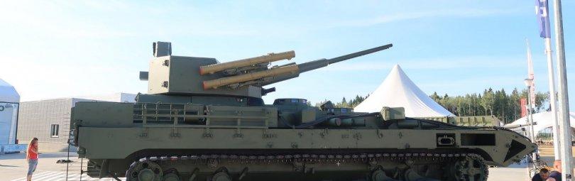 Бронетехника с орудием 57-го калибра