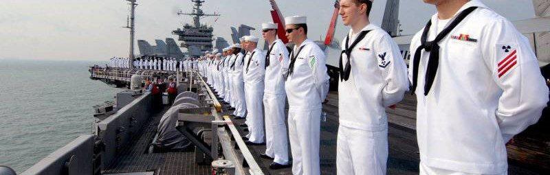 Моряки флота США