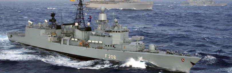 Немецкий военный корабль