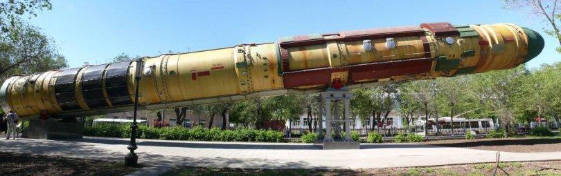 Баллистическая ядерная ракета «Сармат»