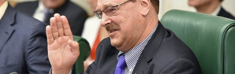 Константин Косачев на Совете Федерации