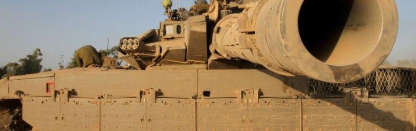 Израильский танк