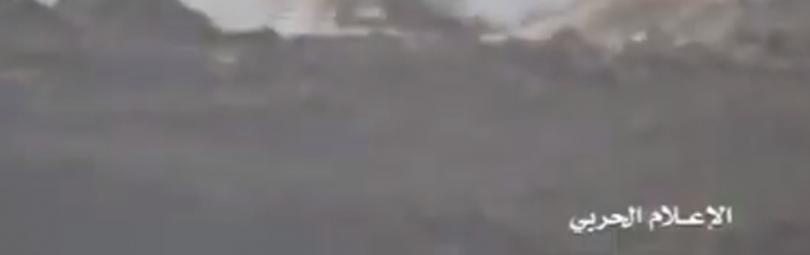 Попадание ракеты в танк