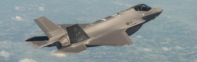 F-35A в воздухе