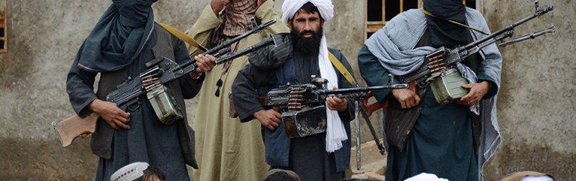 В афганском селении