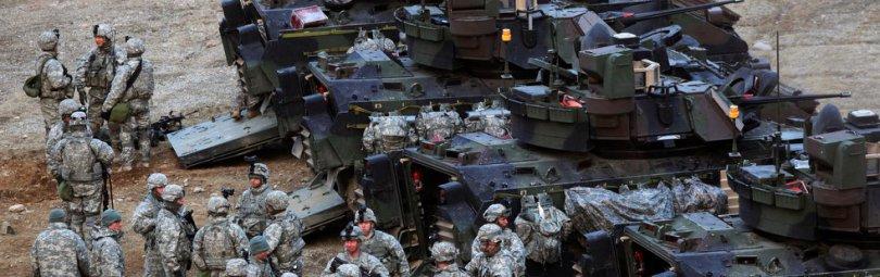 Американские солдаты в Южной Корее