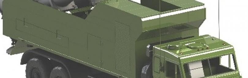Самоходная ракетная установка