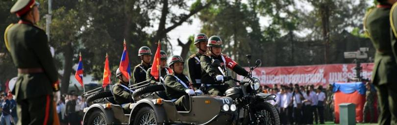 Мотоциклы «Урал» в лаосской армии