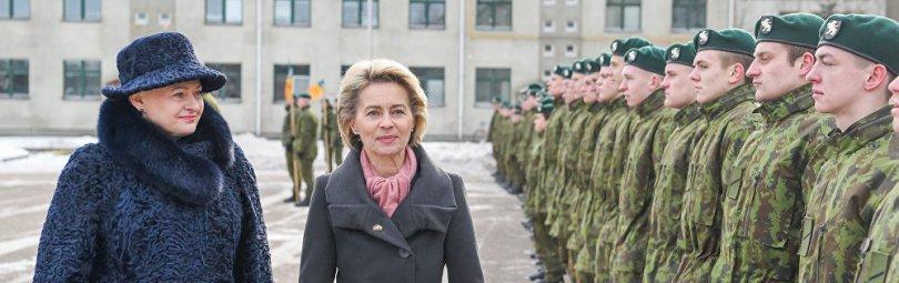 Министр обороны Германии