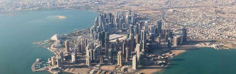 Абу-Даби с высоты птичьего полета