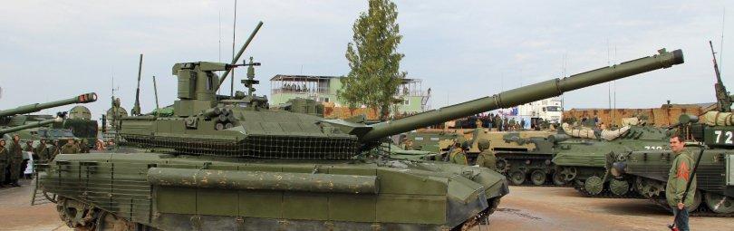 Т-90М на плацу