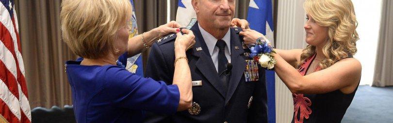 Генерал ВВС США Дэвид Голдфайн