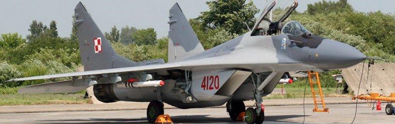 МиГ-29, истребитель ВВС Польши