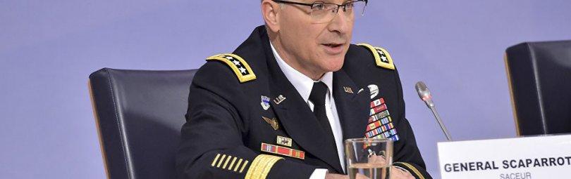 Генерал США Кертис Скапаротти