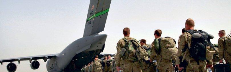 Американские военные покидают Афган