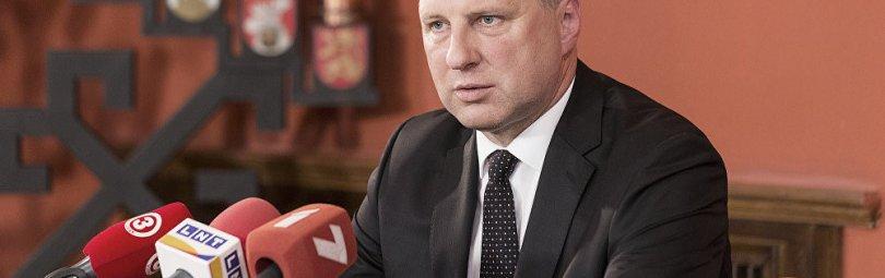 Выступление президента Латвии