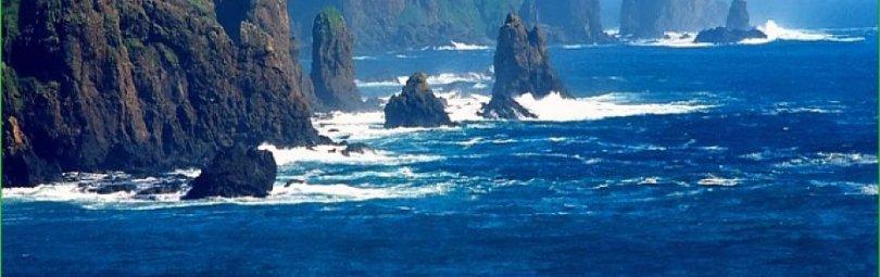 Побережье Курильских островов