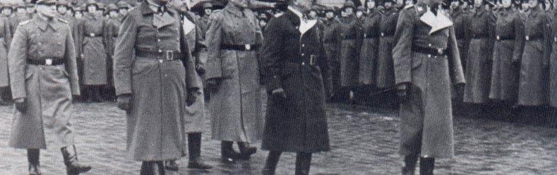 Построение Латвийского легиона СС