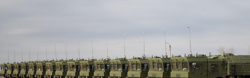 Ракетная бригада с «Искандерами»