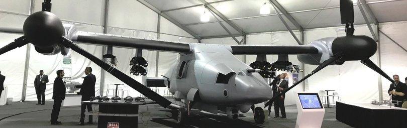 Конвертоплан фирмы Bell Helicopter