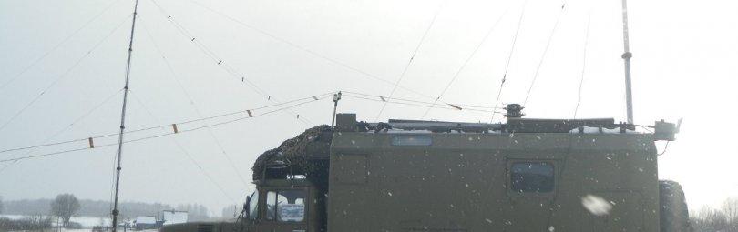 Радиостанция Р-140 на ЗИЛе