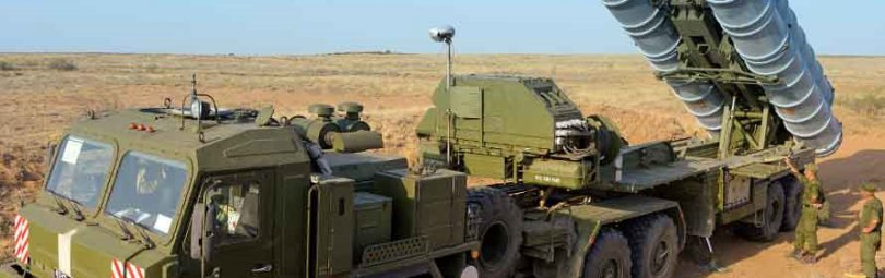 Комплекс С-400 готовится поразить цель